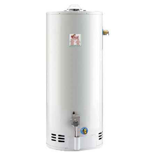 Gas Water Heater 60 Gal - 47 000 BTU - White