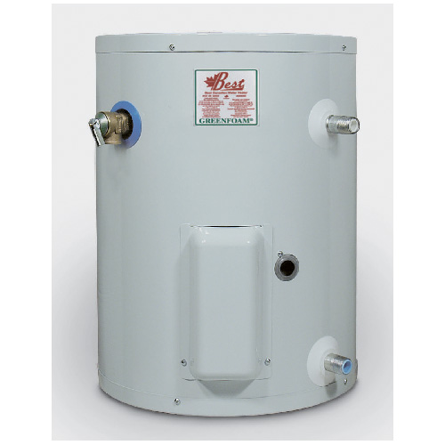 Electric Water Heater 10 Gal - White