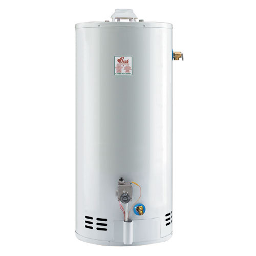 Gas Water Heater 50 Gal - 38 000 BTU - White