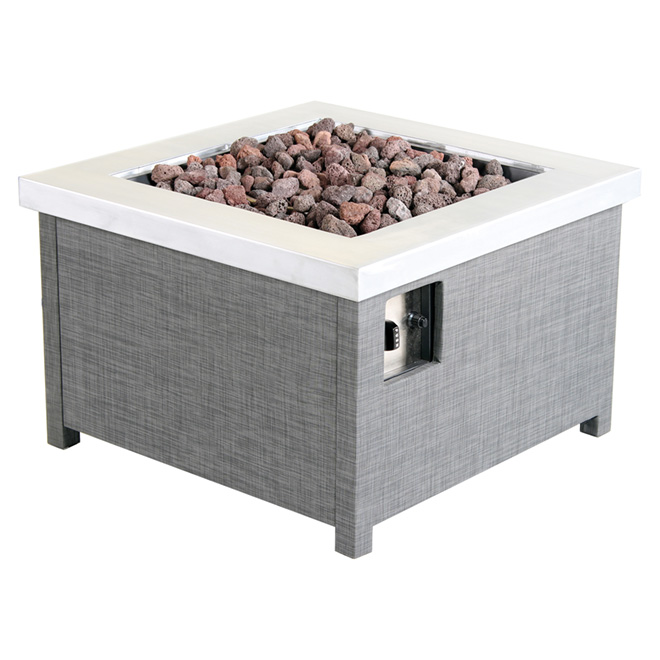 marquis outdoor propane fire table 50 000 btu rona. Black Bedroom Furniture Sets. Home Design Ideas