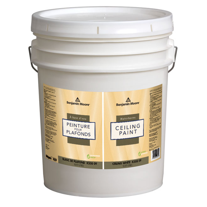 Superior Product Selection From BENJAMIN MOORE. Waterborne Ceiling Paint   Flat    18.34 L