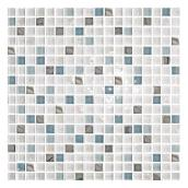 Glass mosaic wall tiles