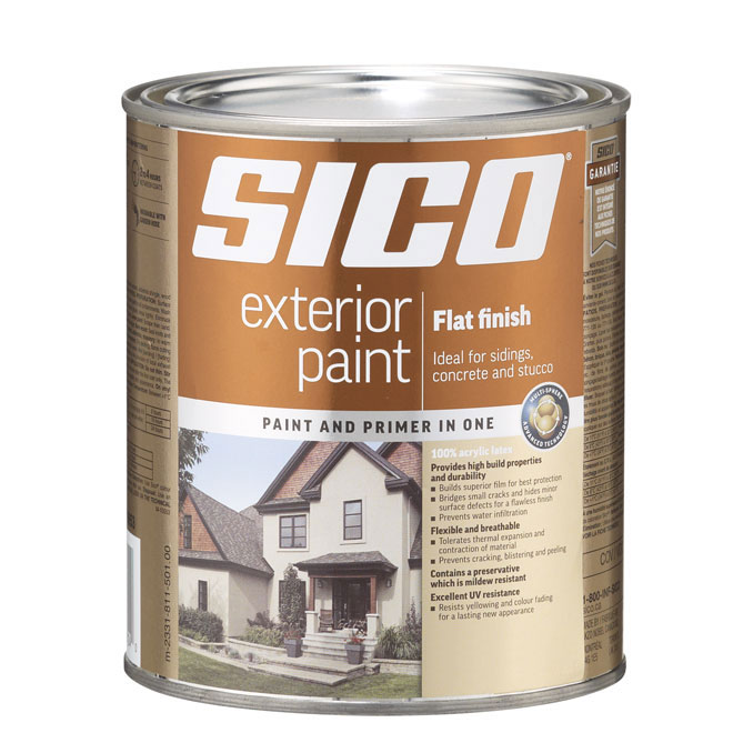 Quot Flat Finish Quot Exterior Latex Paint Rona