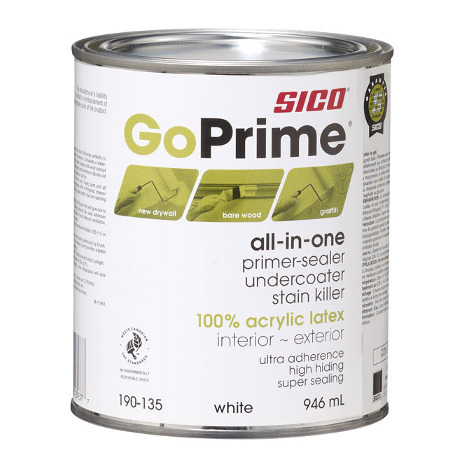 "Go Prime"""" Primer-Sealer and Undercoater"