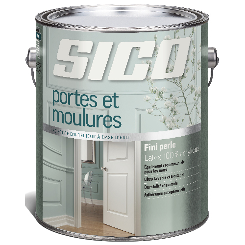 Interio Latex Paint for Doors and Trim