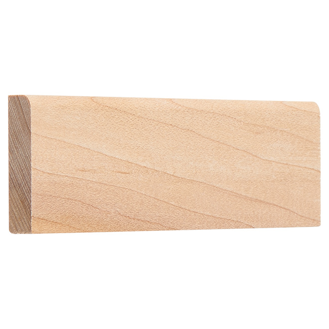 "Maple Door Stop - 3/8"" x 1 1/4"" - Natural"