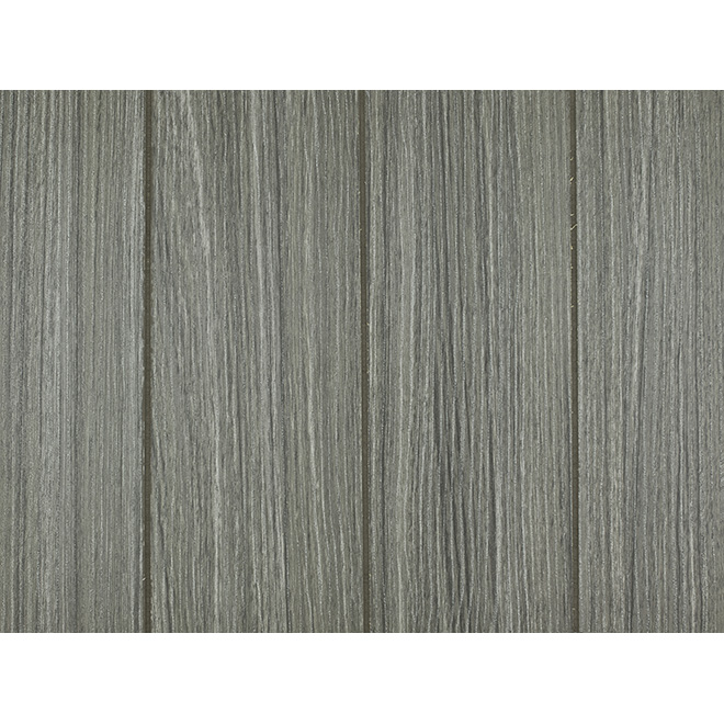 Plywood Prefinished Panel Grey Wood Grain Rona