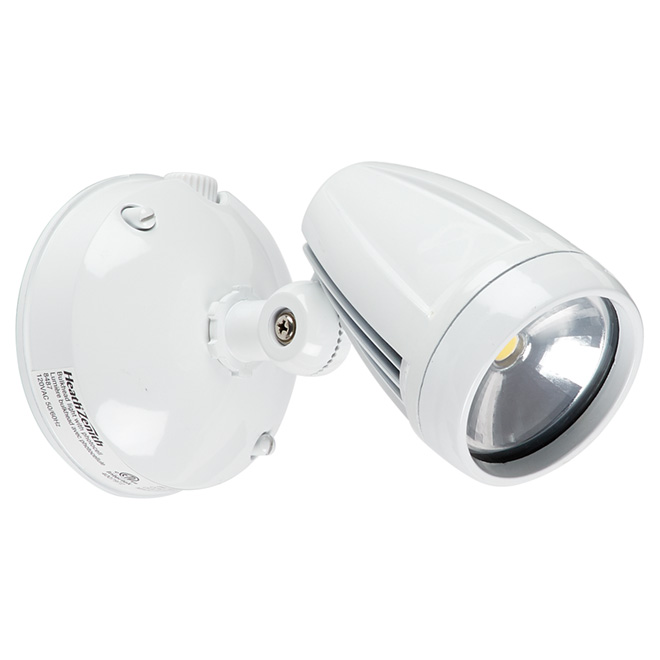 Non-Motion Wall-Mount LED Security Light - White