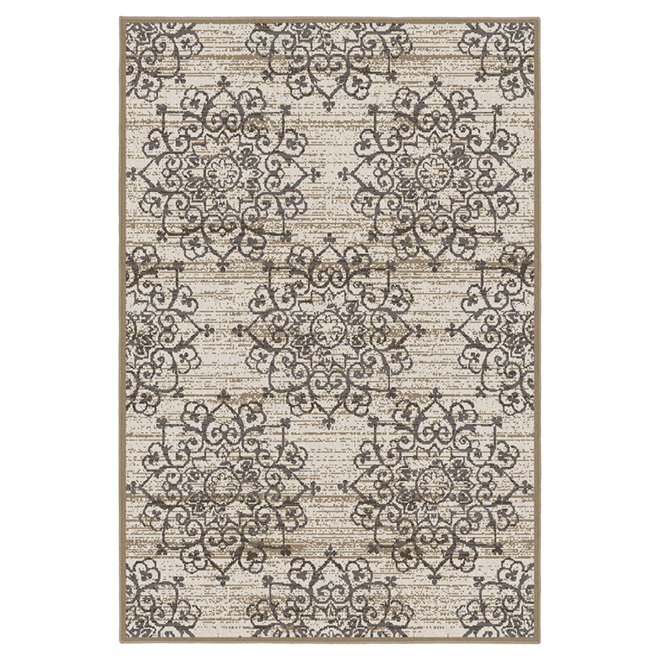 """Talibah"" Area Rug - 5' x 7' - Cream"