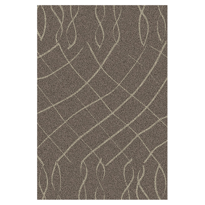 """Luxuria"" Decorative Carpet - Beige - 5' x 7'"