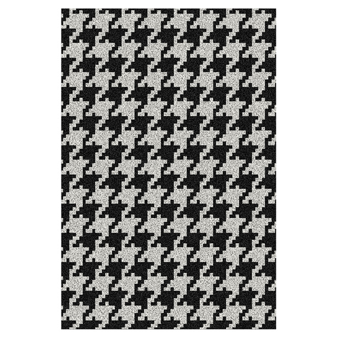 """Luxuria"" Decorative Carpet - Black - 7' x 10'"