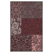 Outdoor Mat - Guava - 5' x 7' - Red/Grey