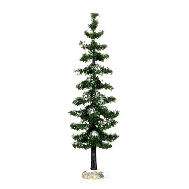Blue Spruce Tree Christmas Figurine