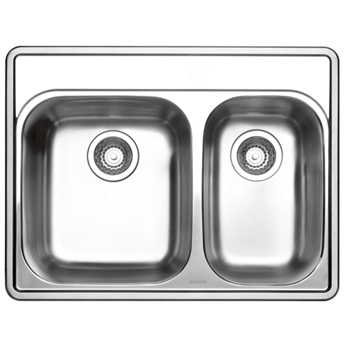 "One and Half Sink - Essential - 27 x 21"" - Stainless Steel"
