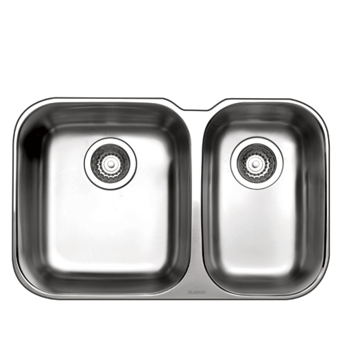 One And Half Sink Essential U 26 5 X 17 Quot Stainless Steel Rona