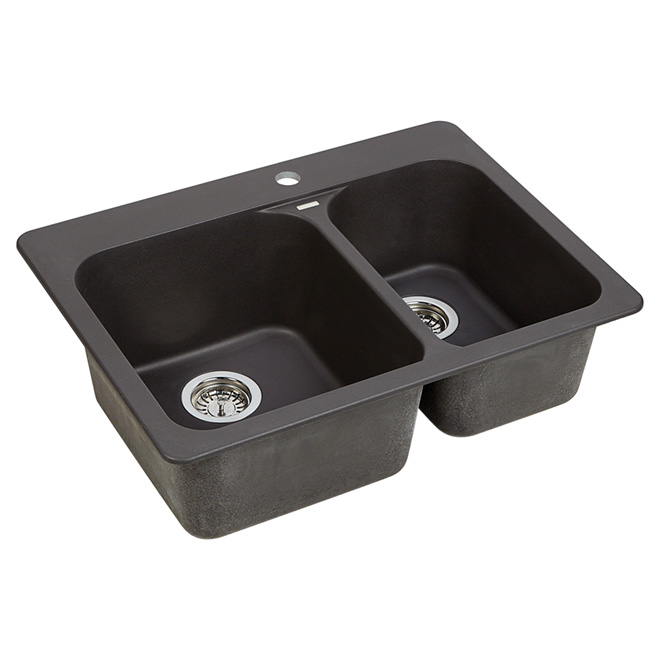 Rona Kitchen Sinks : Silgranit Vision 1.5