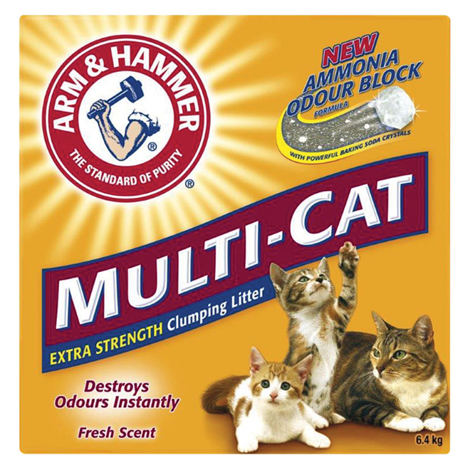 Extra Strength Multi-Cat Clumping Litter - 6.4 kg