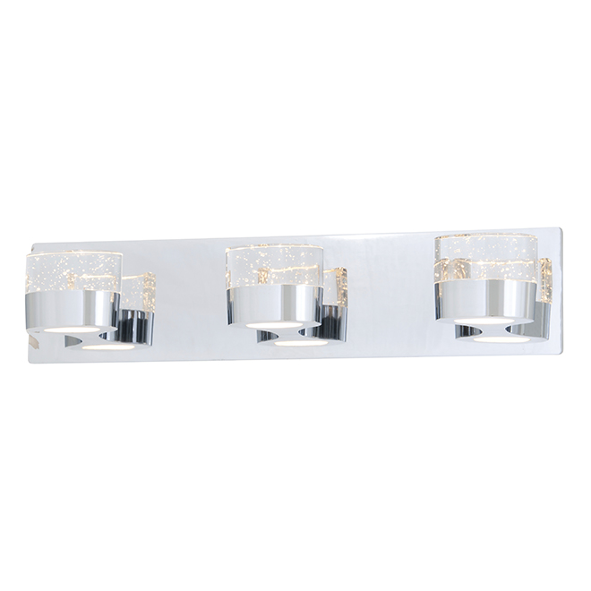 Bathroom Vanity Lights Rona neptune 3-lights wallsconce - chrome | rona