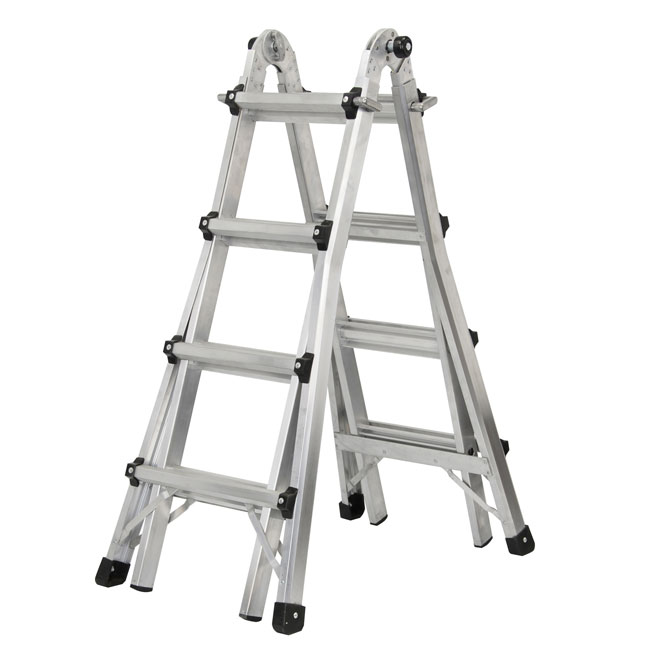 17-FT TELESCOPIC LADDER