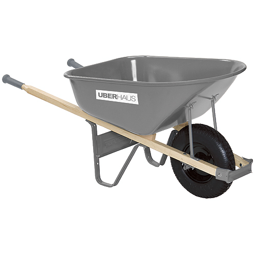 Contractor Wheelbarrow with Steel Tray - 6 cu.ft.