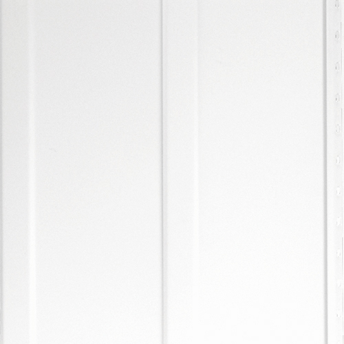"Siding - Aluminium Vertical Smooth Siding 8"" - White"