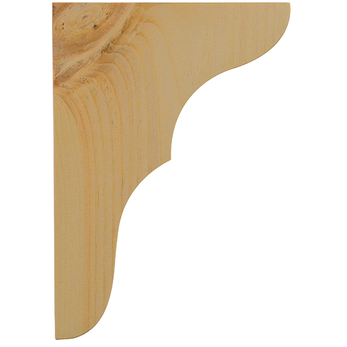 "Shelf Bracket - ""Moulded"" Shelf Bracket"