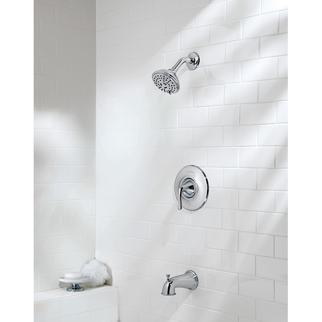 """Selia"" Single Handle Tub and Shower Faucet"
