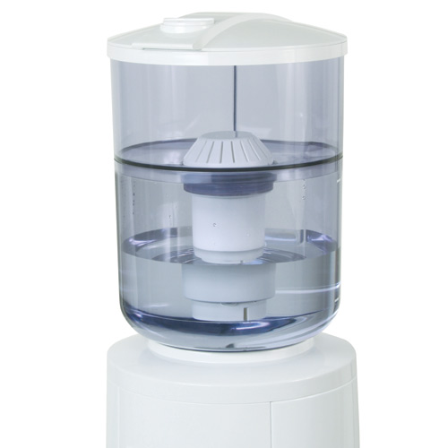 Filtration system for water dispenser rona for Water fountain filtration system