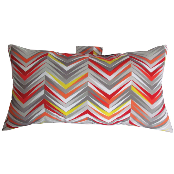 Reversible Decorative Cushion 11 x 20 in