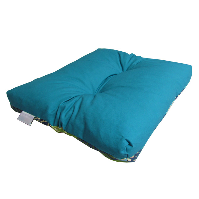 Outdoor Reversible Seat Cushion - Blue/Green