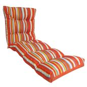 Outdoor Reversible Lounger Seat Cushion