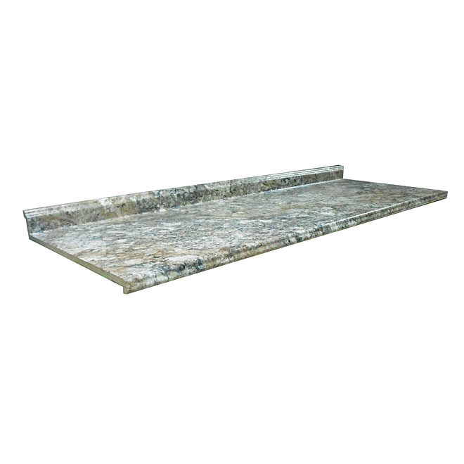 "Moulded Counter Geneva, Winter Carnival, 25,5"" x 6'"