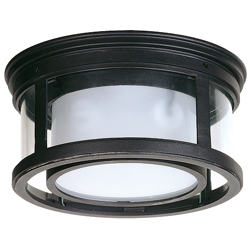 Light Outdoor Flush Mount Ceiling Fixture LightingDirect.com - Light Kit Included - Ceiling Fans ...