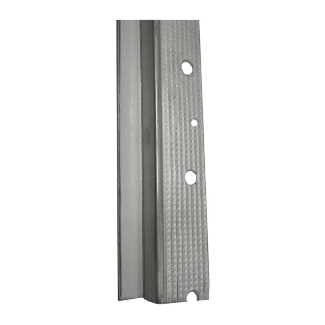 Sheetrock Trim Accessories : Quot d zinc coated steel drywall reveal trim rona