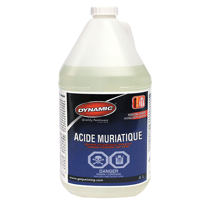 Acide chlorhydrique rona for Acide muriatique piscine
