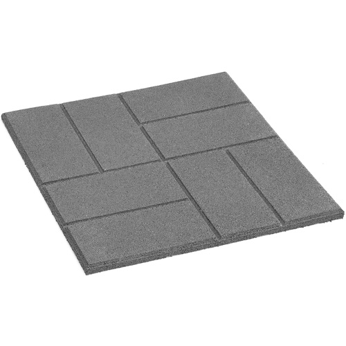 Exceptional Square Rubber Patio Slab
