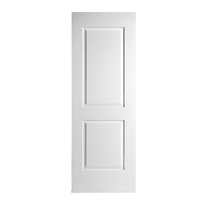 Smooth 2 panel interior door rona for Masonite porte exterieur