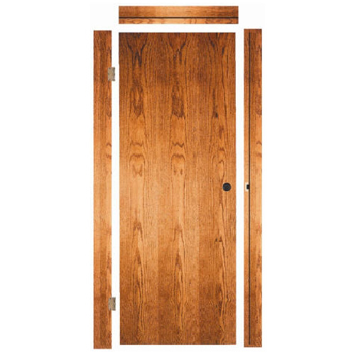 "Fast-Fit Interior Door 28"" x 80"" - Red Oak"