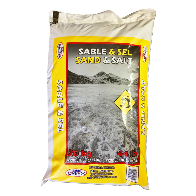 Anti-Skid and De-Icing - Salt and Sand - 20kg