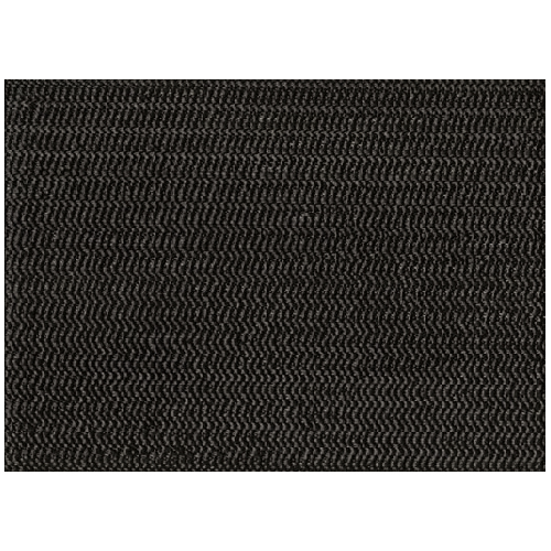 Non-Slip Table Cover - Vinyl - (2) 1.37m x 9m - Black