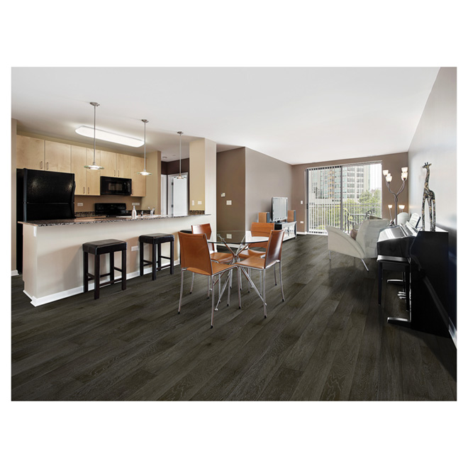 Engineered Oak Flooring - Earth