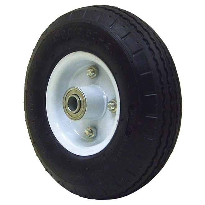 Wheelbarrow Pneumatic Wheel - 3.50-4 / 9""