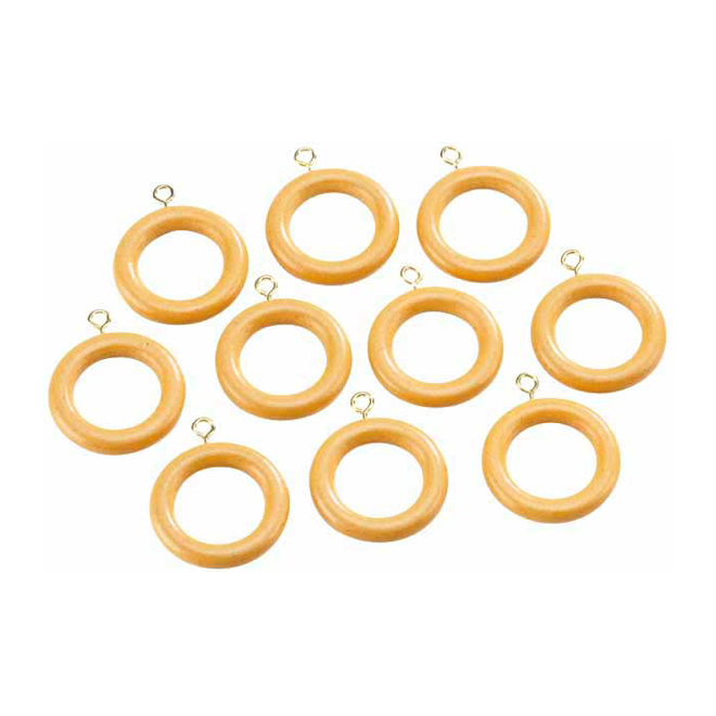 Wooden Rod Rings