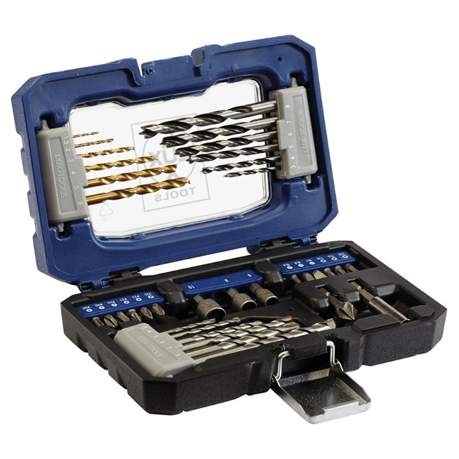 Drill Bit and Drive Bit Set - 34-Piece