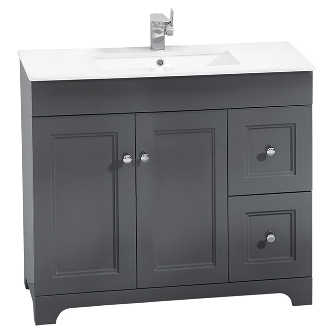 Bathroom Vanity Lights Rona : Vanity Sink - 2 Doors/2 Drawers - 34 1/4