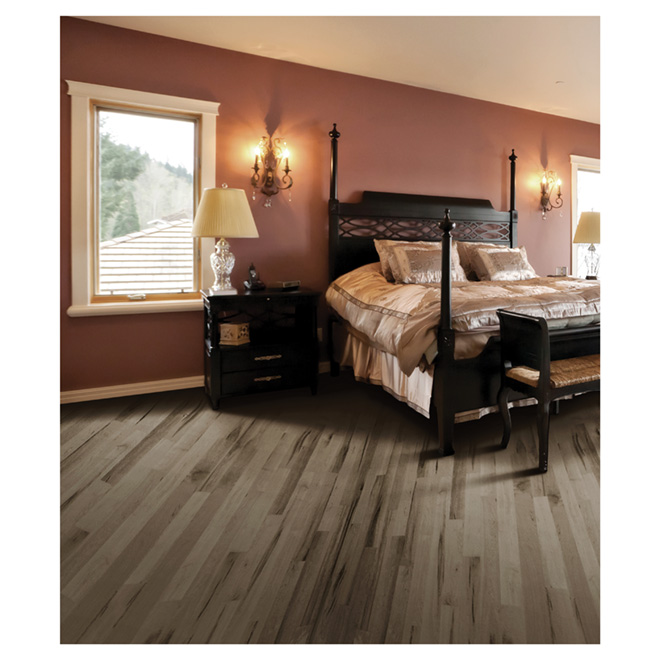 Maple Hardwood Flooring - Maestro - Ash Grey