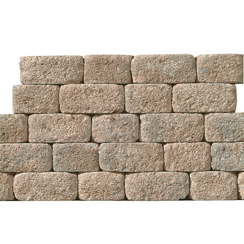 "Wall - Decorative ""Country"" Retaining Wall"