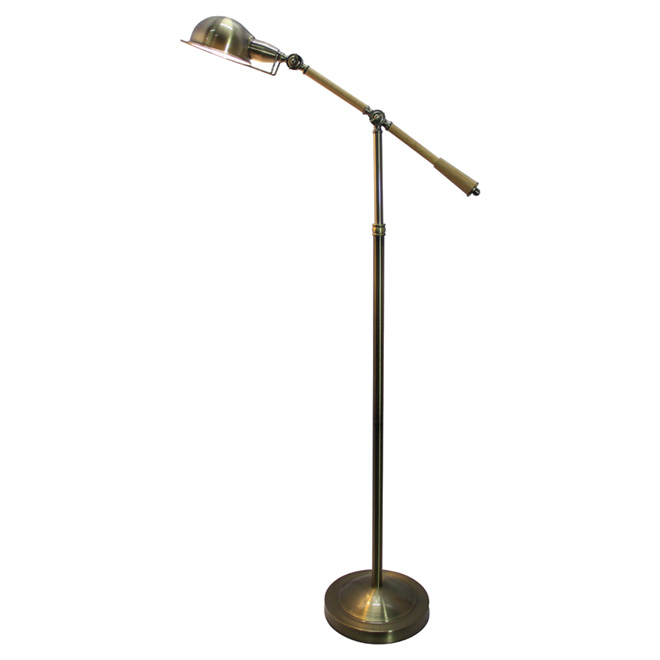"Adjustable Floor Lamp 64,6"" - Bronze"