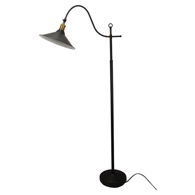 "Floor Lamp 60"" - Black"