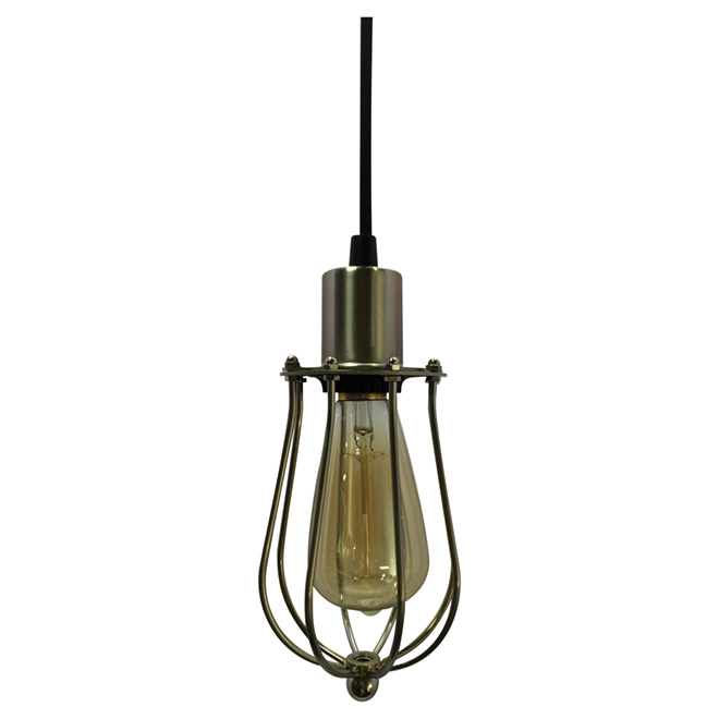 Cage 1-light Pendant - Brushed Nickel